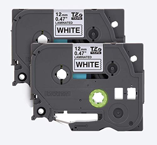 Best p-touch label tape 12mm .47 white aze-231 for 2020
