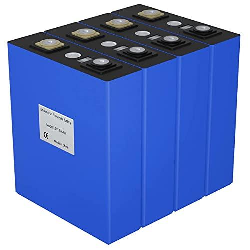 ZQW Grado A 3,2 V 310AH Paquete De Baterías, Ciclo Profundo Células De Batería Lifepo4 Litio Recargable Batería para Sistema Solar UPS Sistema Solar Carro Golf Barco RV Etc