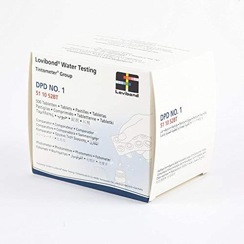 Lovibond - DPD No. 1 Photometer 500 Tablets Chlorine Test FOTOMETRO