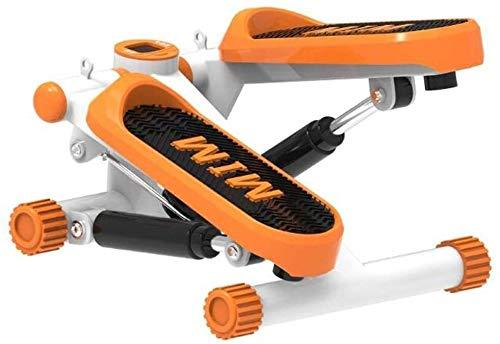 RTUHRJLXJ Indoorsport Tragbares Drehmoment Schritt Treppensteigen Trainingsmaschine W/Aerobic-Ausrüstung (Color : Orange)