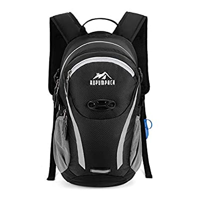 RUPUMPACK Cycling Hydration Backpack with 2L Water Bladder, Insulated Lightweight Bicycle Pack for Men Women Kids Biking Hiking Running