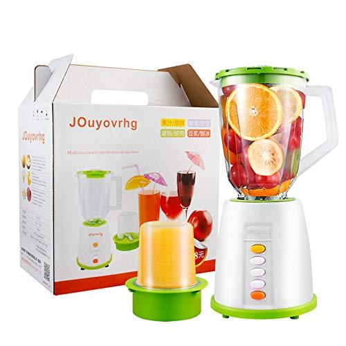 CYC Licuadora, batidora Multifuncional Exprimidor de Frutas y Verduras para la Salud, fácil de Limpiar, se USA para Jugo, batido, Leche de Soja, Molinillo seco, suplemento alimenticio para bebés