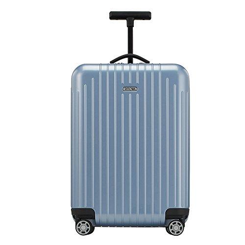 Rimowa Salsa Air IATA Valise de transport à roulettes multiples 33 L Bleu glacier