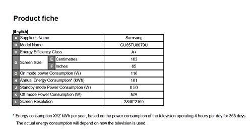 SAMSUNG GU65TU8079UXZG TV 165,1 cm (65