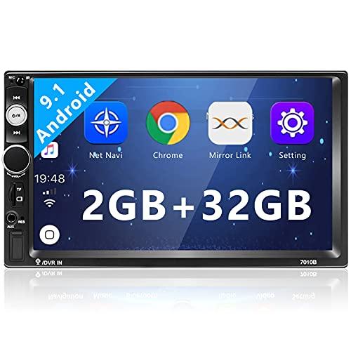 Radio de Coche Doble DIN, 2G + 32G Android 7