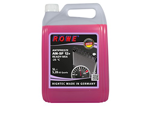 5 Liter ROWE HIGHTEC ANTIFREEZE AN-SF 12+ READY-MIX -25 °C