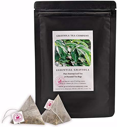 Essential Graviola 100 pure soursop tea 25 tea bags product image