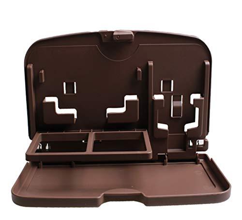 Brushes Auto Esstisch Tabelle Klapptisch an Bord Auto Esstisch Beistelltisch (Color : Black)