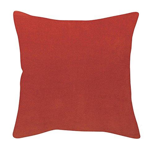 Vivaraise - Coussin - Coussin décoration - Coussin décoratif – Coussin carré - Coussin canapé - Coussin intérieur - Coussin Multifonctions - 45 x 45 - Tomette Rouge - Elise