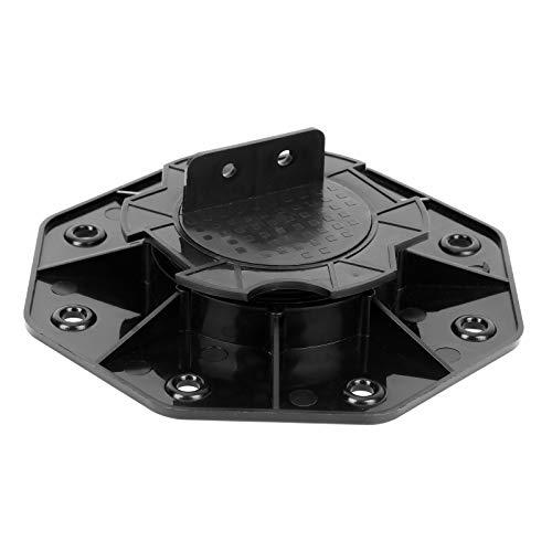 VINGO Plattenlager Stellfuss 18-30mm 50 Stück Stelzlager für Terrassenplatten höhenverstellbar Stellfüße aus Kunststoff für Platten Fliesen Steinplatten & Terrasse