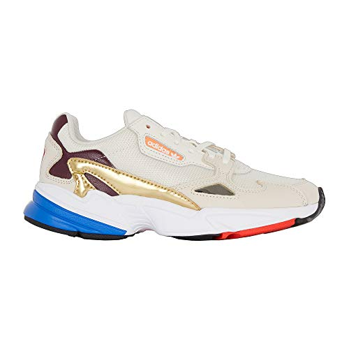 adidas Hombre Falcon W Zapatillas Blanco, 41 1/3