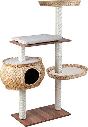 Silvio Design: Kratzbaum aus Naturholz für Katzen.