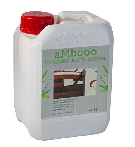 Bambus Pflege-ÖL Coffee 2,5 Liter