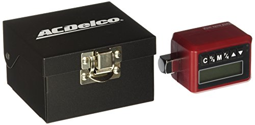 """ACDelco ARM302-4S 1/2"""" (12.5 to 250.7 ft-lbs.) Heavy Duty Digital Torque Adapter with Buzzer and LED Flash Notification – ISO 6789 Standards with Certificate of Calibration"""