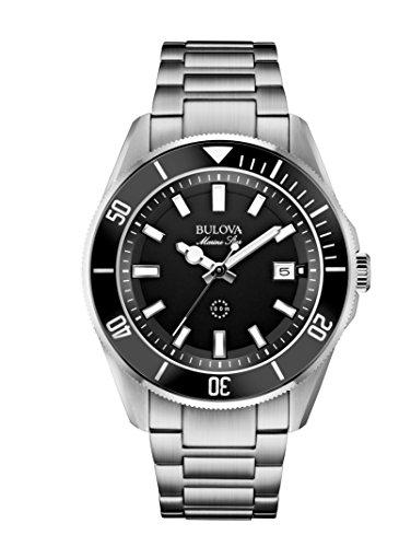 Relógio masculino Bulova, Tom de prata, Standard
