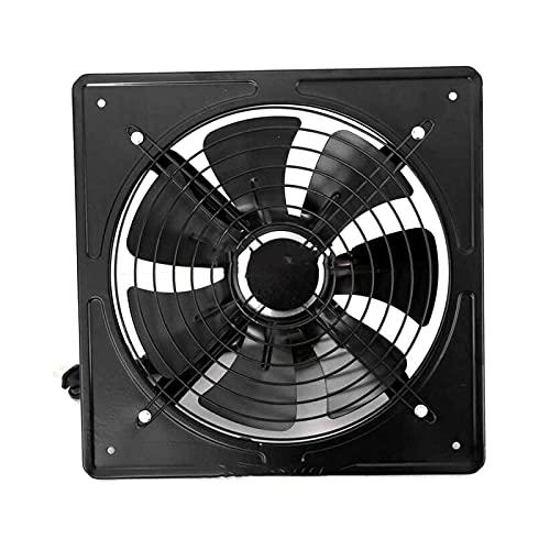 SHUTING2020 Garage Exhaust Fan 10' 12' Air Extractor Industrial Fan Extractor Ventilation Metal Axial Exhaust Fan Air Blower Home Kitchen Industrial Ventilation Fan Ventilation Fan (Color : 12 inch)