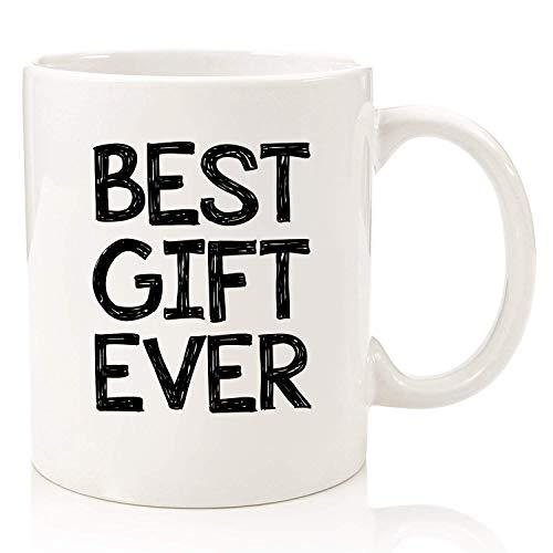 El mejor regalo siempre divertido Taza de café Los mejores regalos de Navidad Regalos únicos de Navidad Elep-hant blanco Regalo de cumpleaños genial