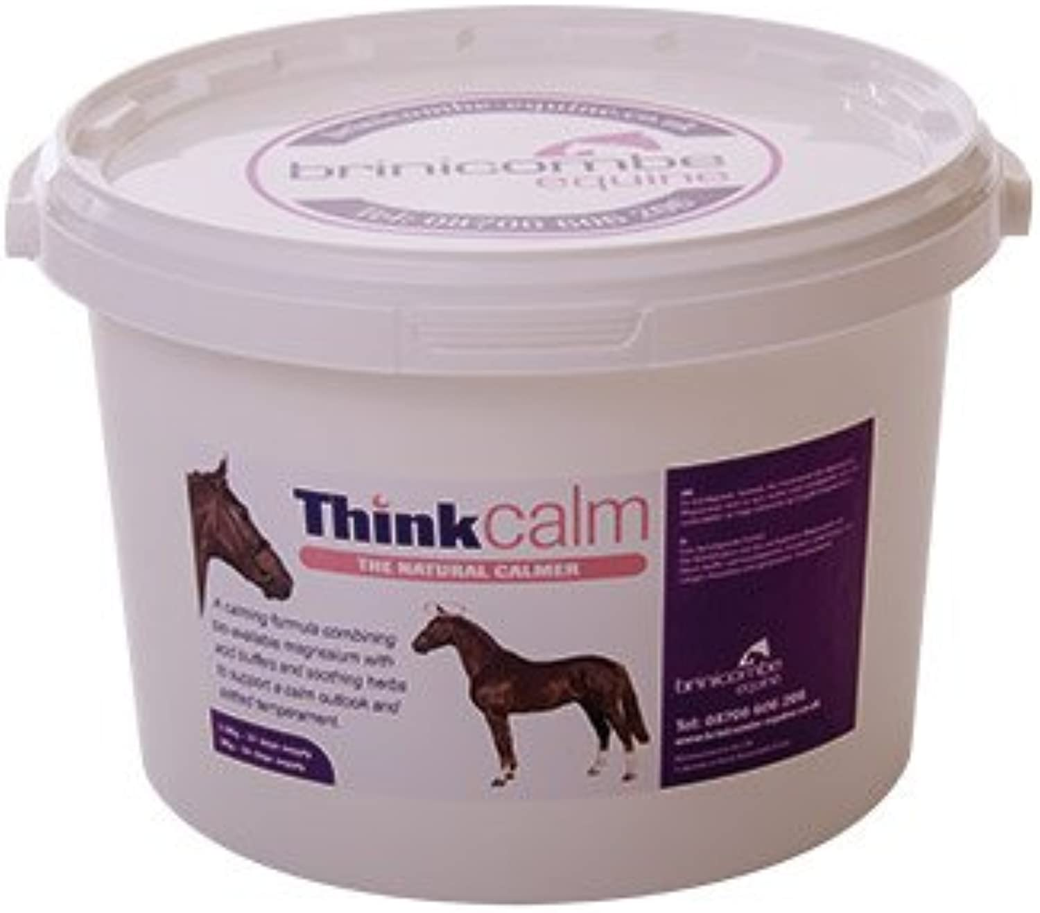 Binicombe Equine Thinkcalm  A Natural Calmer For Horses  2.5kg