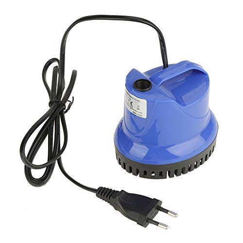 循環ポンプ 分離簡単 水中ポンプ 吸盤デザイン 無毒 低騒音 家庭プール 魚介類の養殖場 魚の池 水族館(SM-1800L 欧州規格220?240V)
