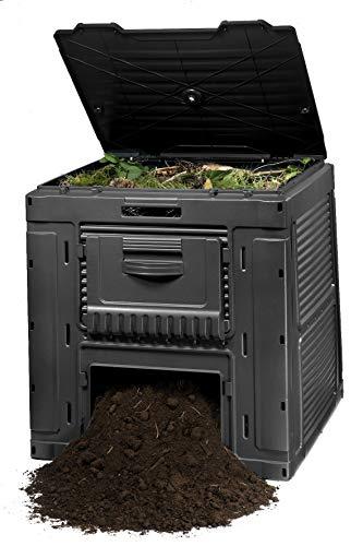 Keter - E-Komposter mit 470 Liter Fassungsvermögen, dunkelgrau