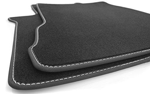 kh Teile LKW Fußmatten (Naht: Silber) FH4 Original Qualität Velours Teppich Fahrerkabine Tuning 2-teilig