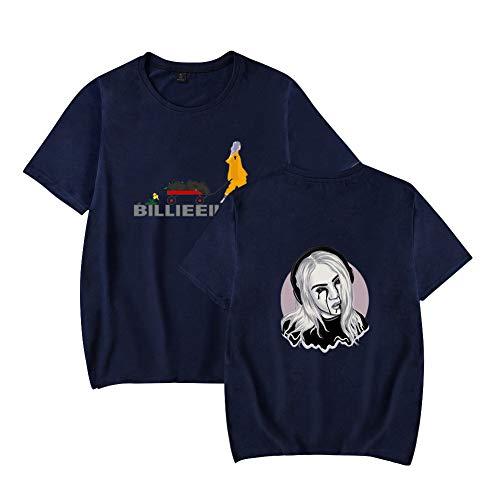 Landove Billie Eilish T-Shirt Korte Mouw Unisex Zomer
