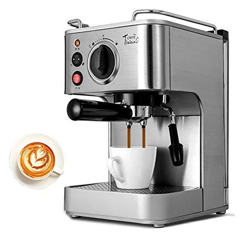 Dampf-Espresso-Halbautomaten Mit Dual-Temperaturregelung, Kaffeemaschine Für Gewerbliche Nutzung, Edelstahl
