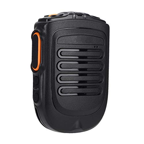 PUSOKEI Micrófono inalámbrico Bluetooth, micrófono de Mano para walkie-Talkie, con Botones de función Personalizados, fácil de Sujetar