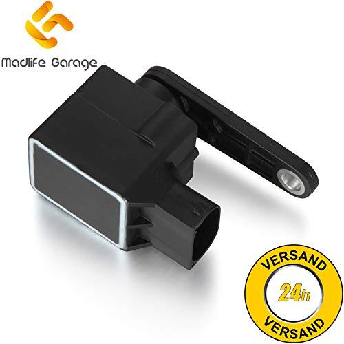 Madlife Garage 4B0907503 Niveausensor Xenon Leuchtweitenregulierung Höhenstandssensor A3 A4 A6 A8 TT