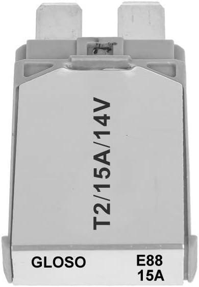 GLOSO E88 Type 2 10A ATC Footprint Automotive Circuit Breaker 1 Pack Modified Reset