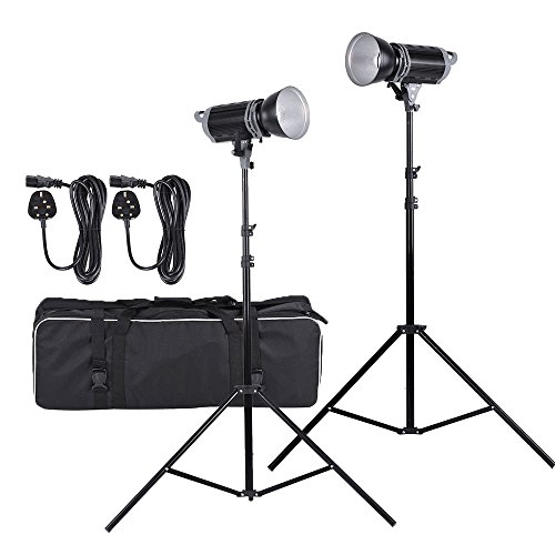 Light Lamp Kit met Light Stand + lampenkap + draagtas Mount LED Fill-in Light Lamp Kit met Light Stand + lampenkap + draagtas Fotografie & grafische vormgeving (Size : Uk)