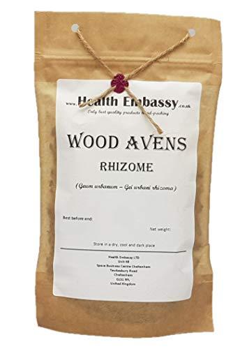 Health Embassy Nelkenwurz Rhizome Tee (Geum Urbanum - Gei Urbani Rhizoma) / Wood Avens Rhizome Tea, 50g