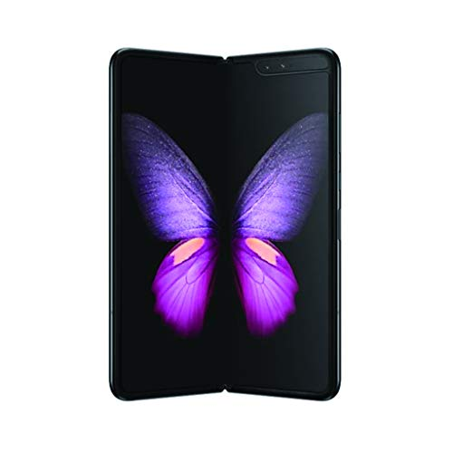 Samsung Galaxy Fold 5G Model SM-F907N / 512GB / Unlocked SIM フリー (Cosmos Black) (SB Mobile限定特典2点)