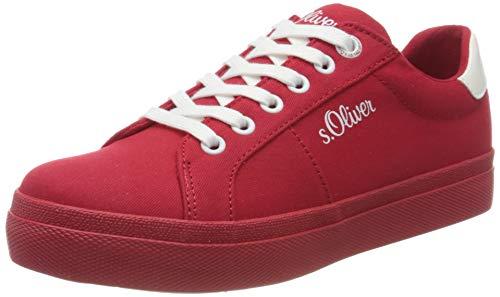 s.Oliver 5-5-23621-24, Zapatillas para Mujer, Rojo Red 500, 40 EU