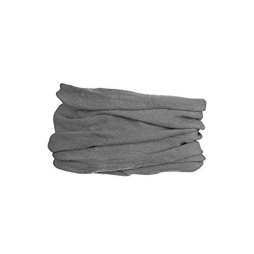 GripGrab Multifunktionales Merino Halstuch Multifunktionshalstuch, Grau, Onesize