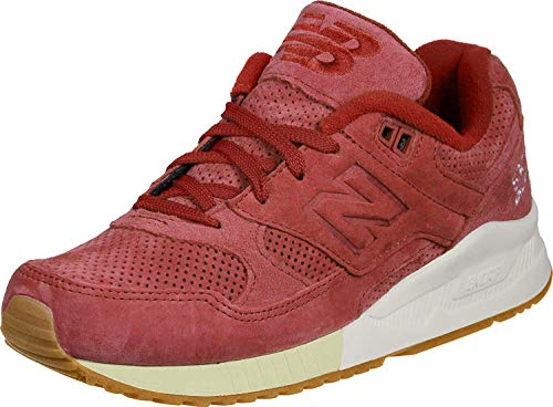 New Balance 530 Women's Running, Size 5.5, Color Red/White