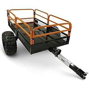 MotoAlliance Impact ATV/UTV Heavy Duty Utility Cart Cargo Trailer