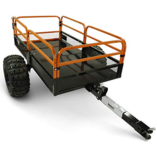 MotoAlliance Impact ATV/UTV Heavy Duty Utility Cart Cargo...