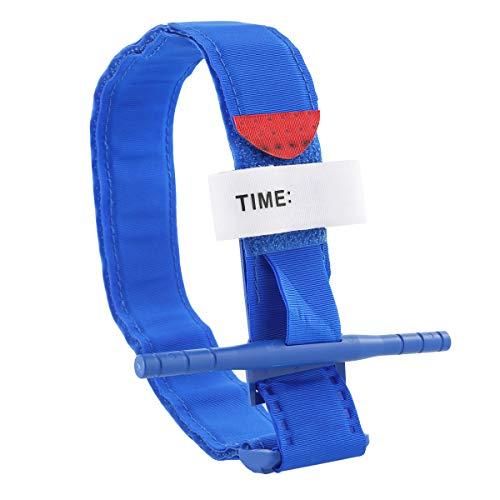 Soapow Tira de primeros auxilios para torniquete rápida con una sola mano o emergencia al aire libre Reino Unido