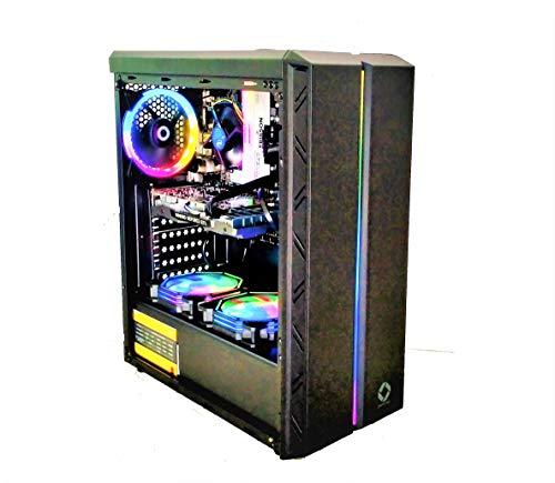 CHIST PUBG Gaming PC Intel i5 8GB Ram 120GB SSD 500GB Hard Disk GTX 730 4GB Graphic Card WiFi