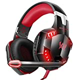VersionTECH. G2000 Gaming Headset for PC PS4 Xbox One, Gaming Headphones with Noise