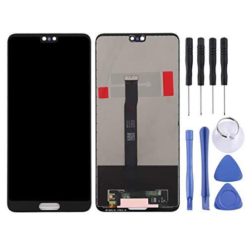 YKDY IT Schermo LCD e Digitizer Assembly Completo for Huawei P20 (Nero) Schermo (Colore : Black)
