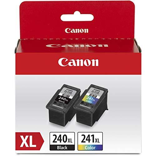 Canon PG-240 XL Black & CL-241 XL Color Ink Cartridge Value Pack for PIXMA Printers