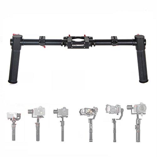 EACHSHOT Dual Handle Grip Handlebar Kit for Gimbal Zhiyun Crane Plus/Crane 2/Feiyu AK2000S MOZA Air Aircross (Not Support DJI Ronin-S Zhiyun Crane 2S)