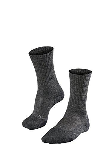FALKE Herren Wandersocke TK2 Wool M SO, 1 Paar, Grau (Smog 3150), 39-41