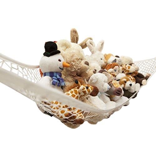 Vine Toy Hammock Grande Taille Storage Net Pour Peluches, excellent pour stockage Nursery, Jouets Jeux Organisation et PDAs suspendus