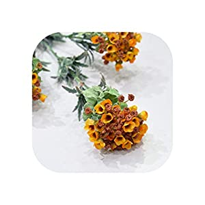 Magic day Snowball Flower Branch Wedding Home Decoration Flower Photography Props Fake Flower Flores Artificiais,3 Heads/Branch