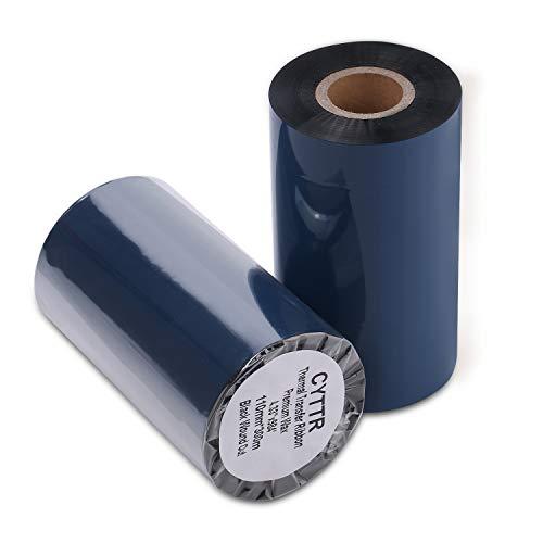 CYTTR Thermal Transfer Ribbon - Premium Resin-Enhanced Wax - 4.33
