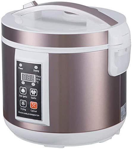 Kacsoo 5L 220V Fermentador de ajo negro, máquina de fermentación inteligente automática todo en uno, fabricante de alimentos saludables, cocina de bricolaje de ajo de varios dientes