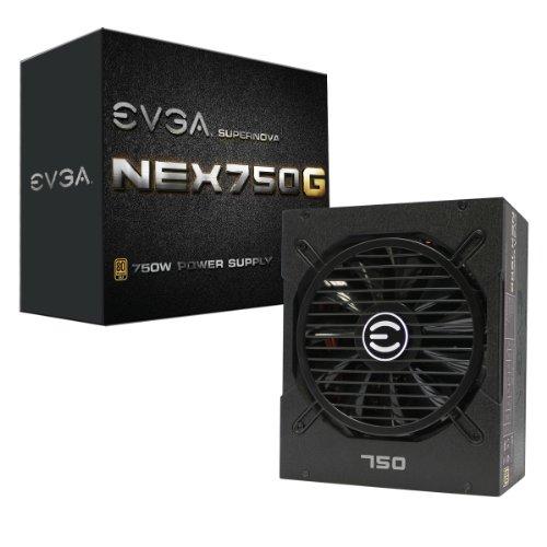 EVGA Supernova 750 G1, 80+ Gold 750W, Fully Modular, 10 Year Warranty, Includes Free Power On Self Tester Power Supply 120-G1-0750-XR